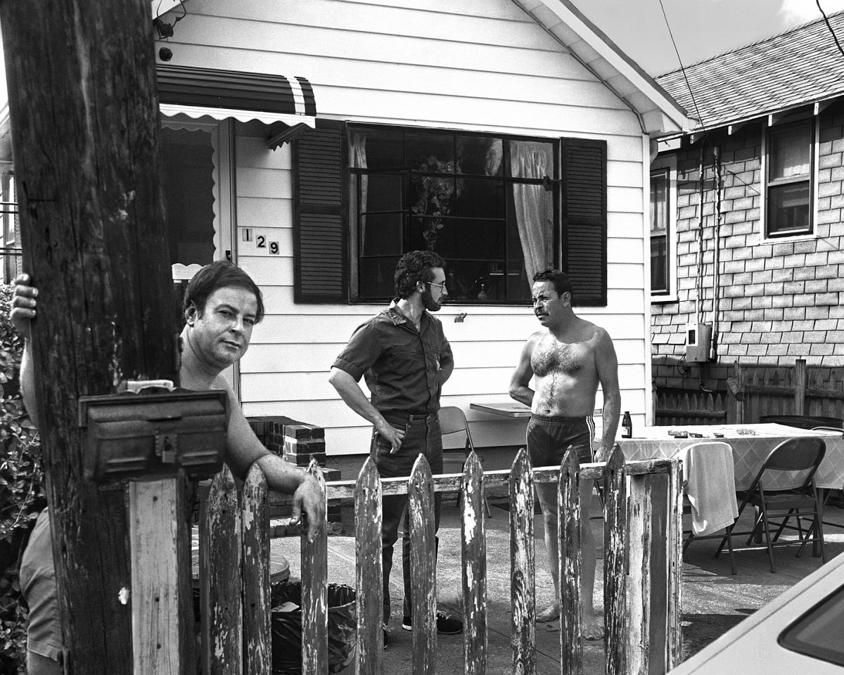 Neighbors 1983-84 gelatin silver print 11 x 14 inches