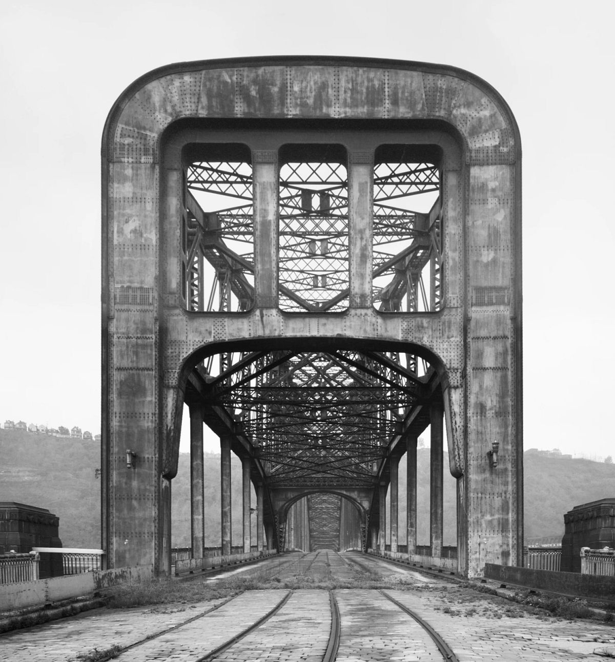 Point Bridge, Monongahela River, Pittsburgh, Pennsylvania,1967