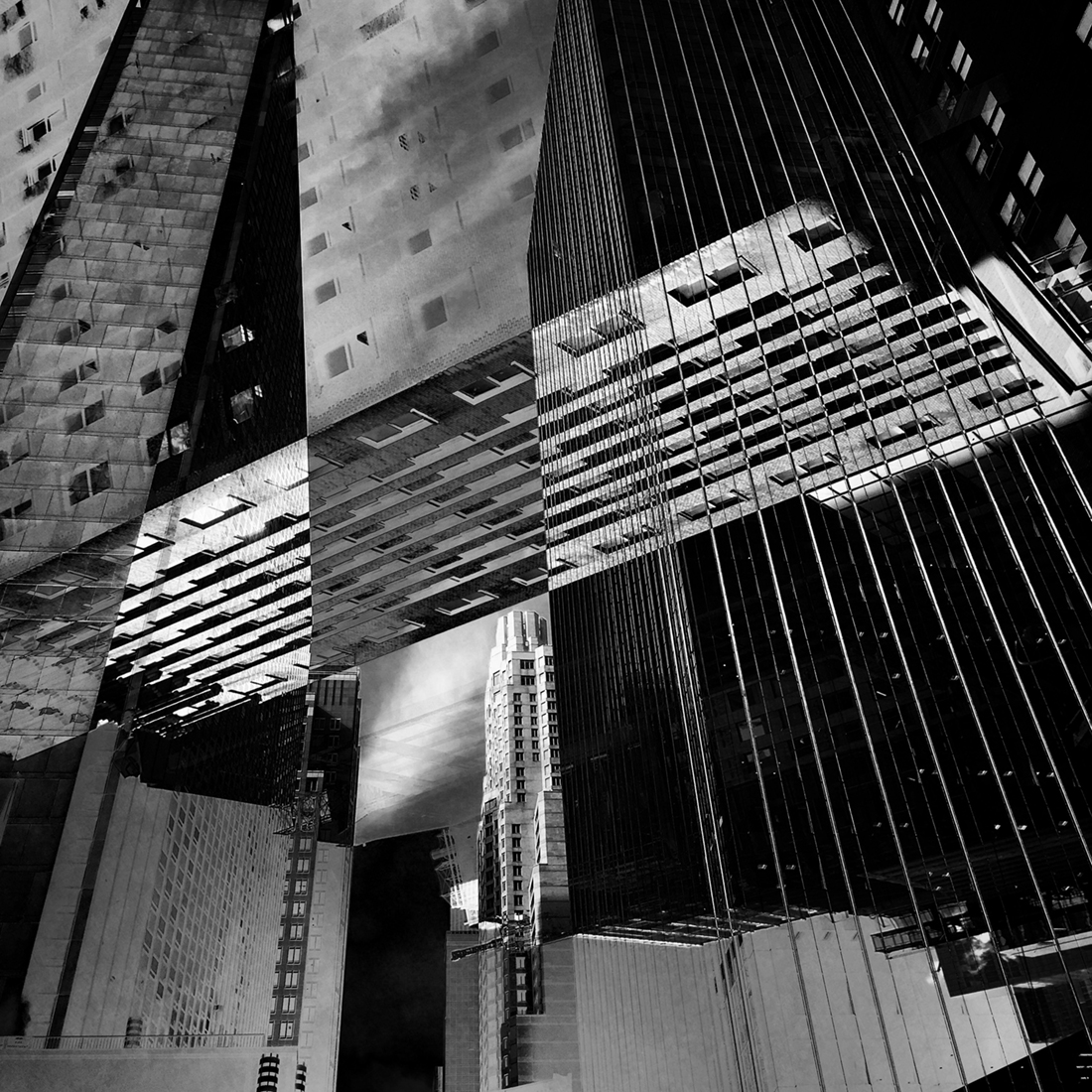1ST PLACE – Black & White Architectural PHOTO of the Year 2019, Midtown – Trevor Messersmith