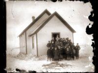 Vintage: Midwest (1910s) Antique glass photo negatives