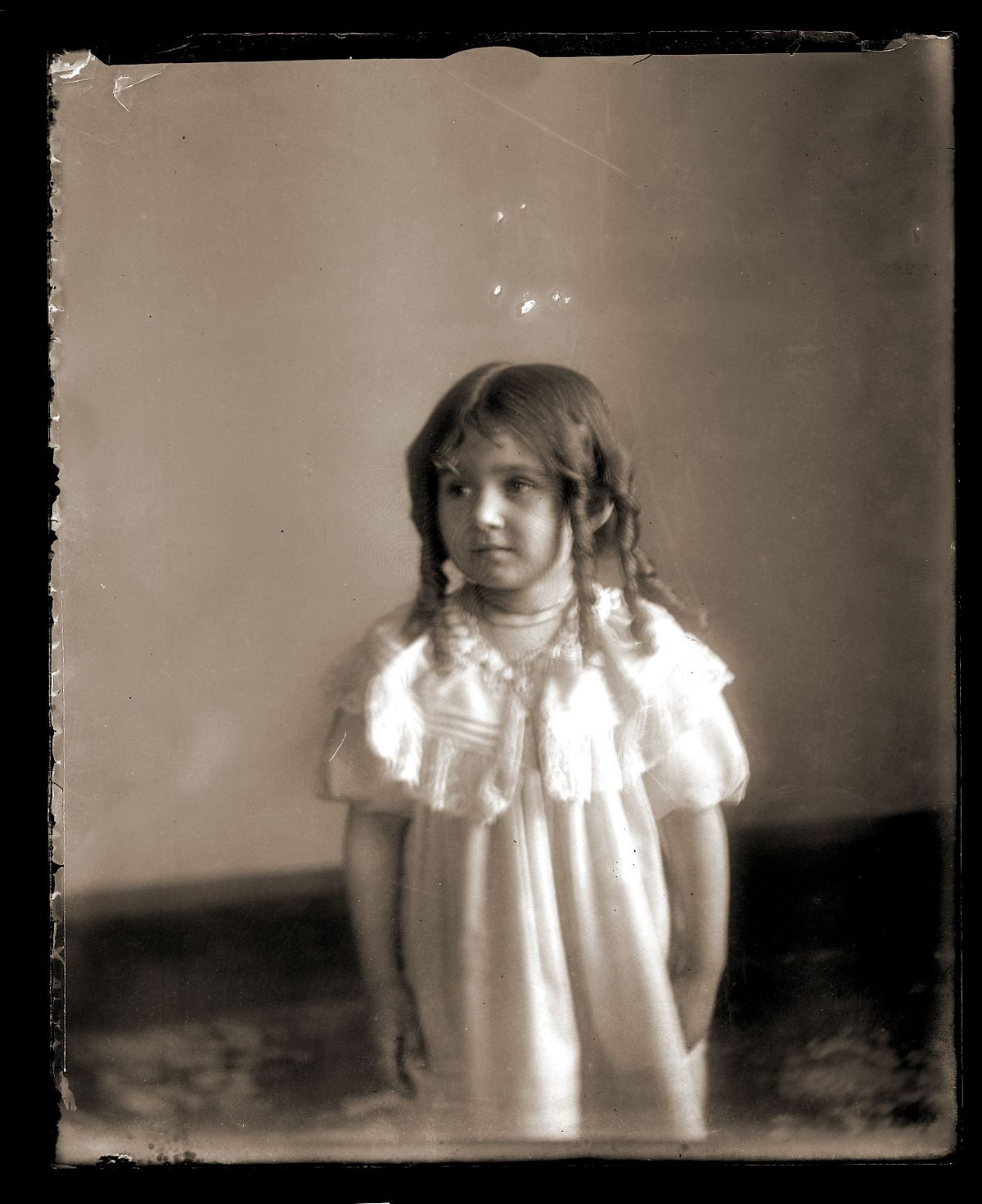 Girl with curls, c1913