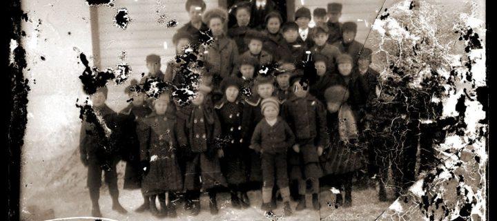 Vintage: Midwest (1910s) Glass photo negatives