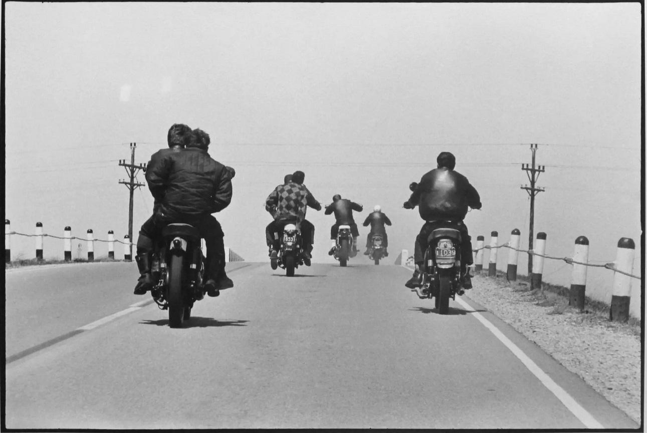Danny Lyon Route 12 Wisconsin, The Bikeriders Portfolio, 1963