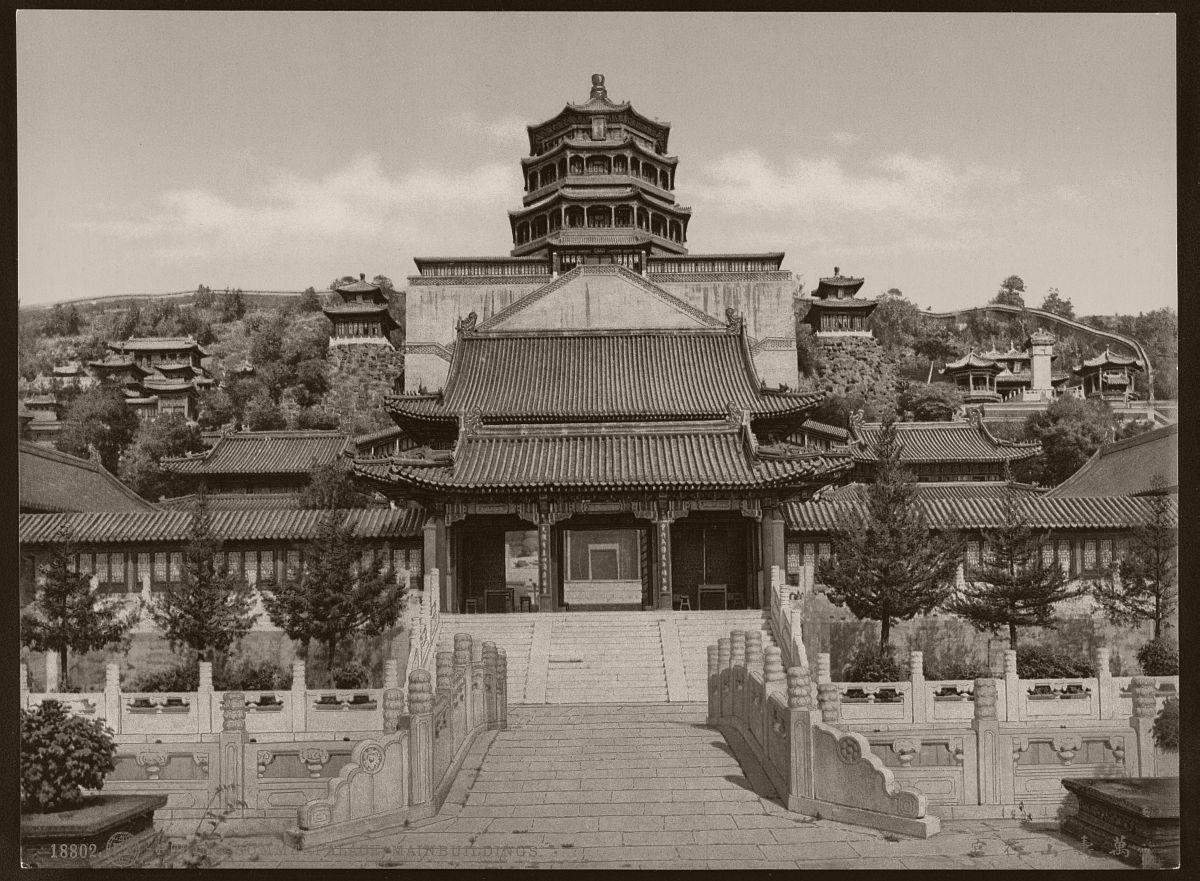 Peking. Summerpalace, Mainbuildings