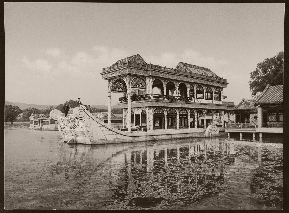 Peking. Summerpalace, Marbleboat