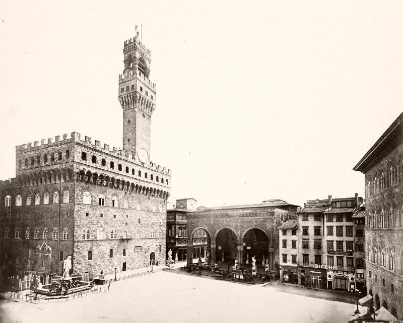 Palazzo Vecchio, Florence, 1883