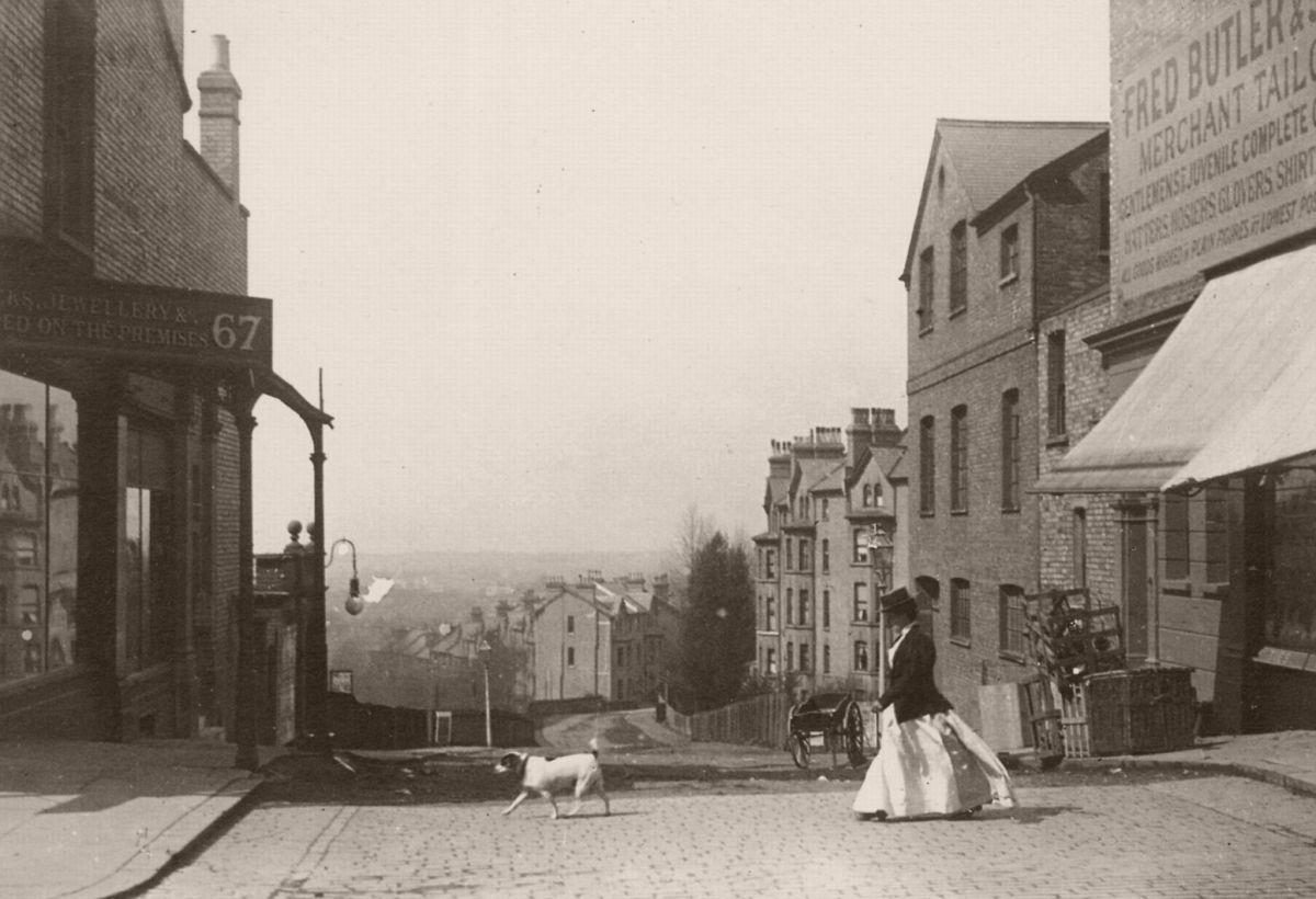 Street near Crystal Palace