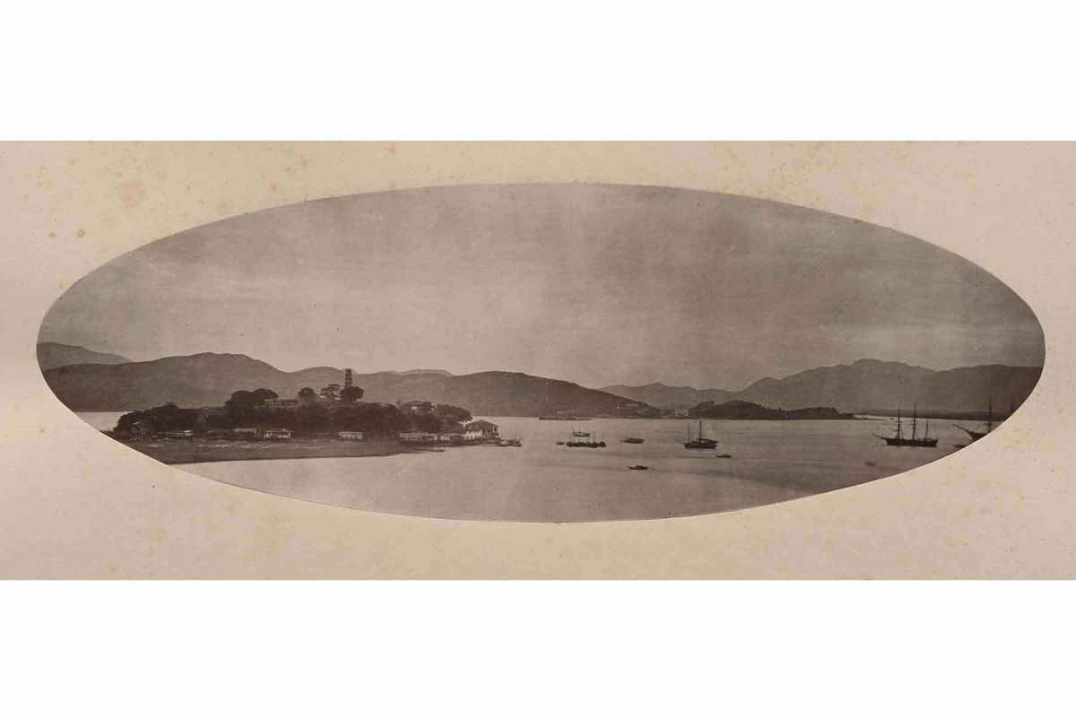 John Thomson, Pagoda Island, 1870-1871. Carbon print. Gift of the Estate of Mrs. Anthony Rives. © Peabody Essex Museum. Photography by Ken Sawyer.