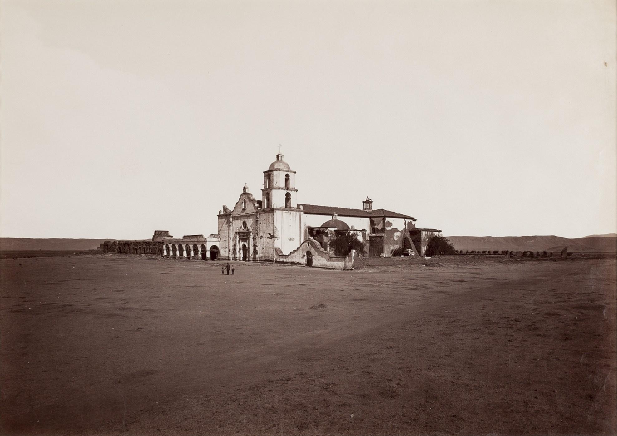 Carleton E. Watkins, Mission San Luis Rey, ca. 1877