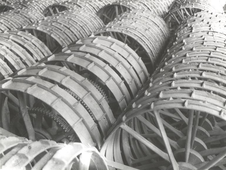 Reaping Machine Wheels, 1929