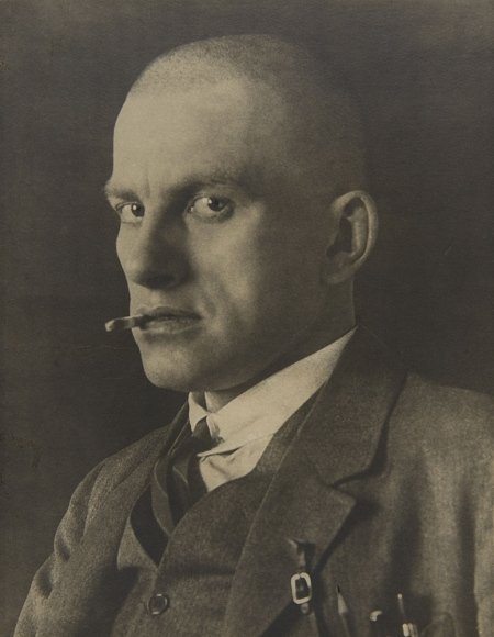 Aleksandr Rodchenko  Portrait of Mayakovsky, 1924