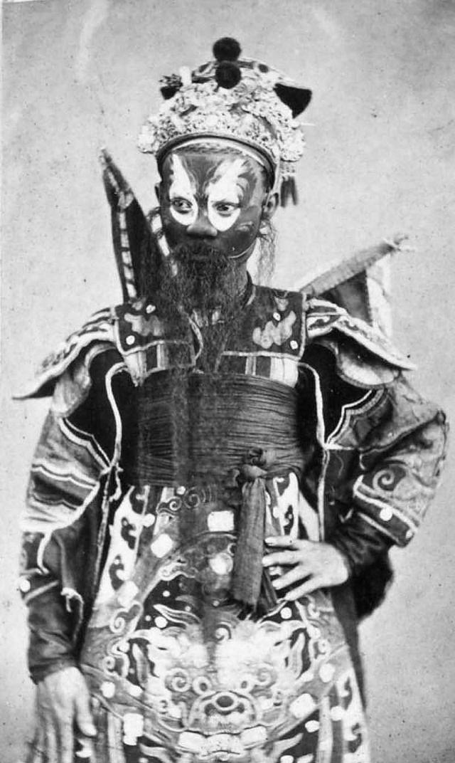 Portrait of a dramatics artist, 1880