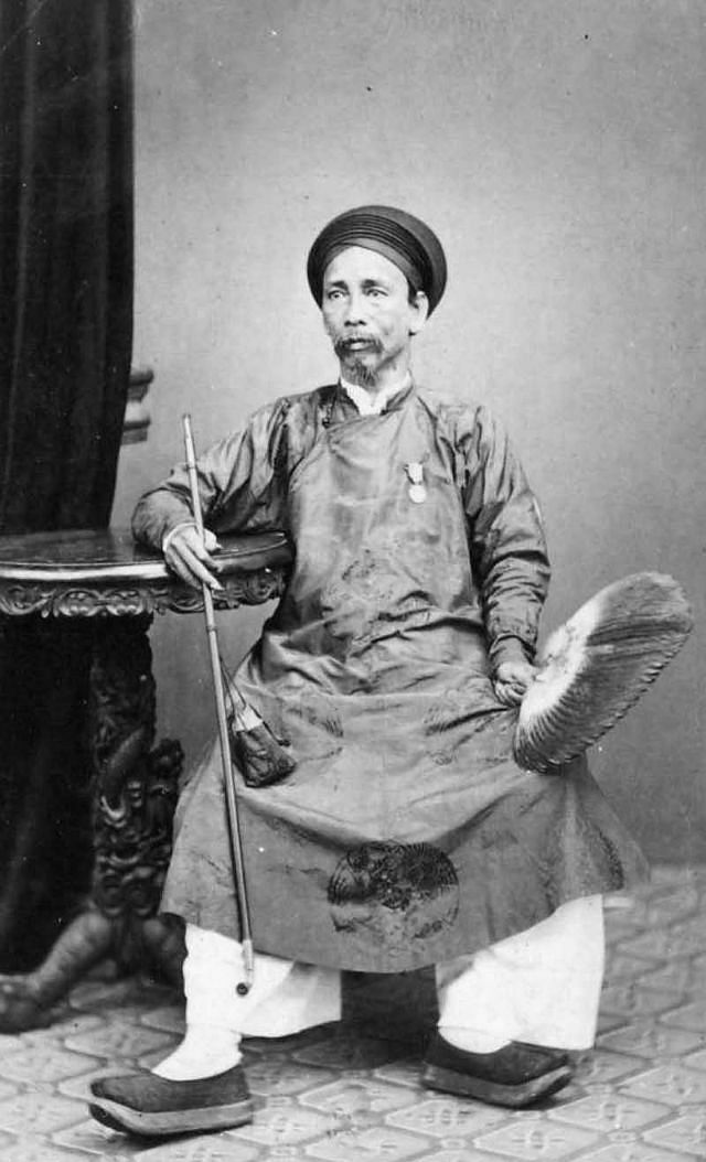 A governor in Saigon, 1880