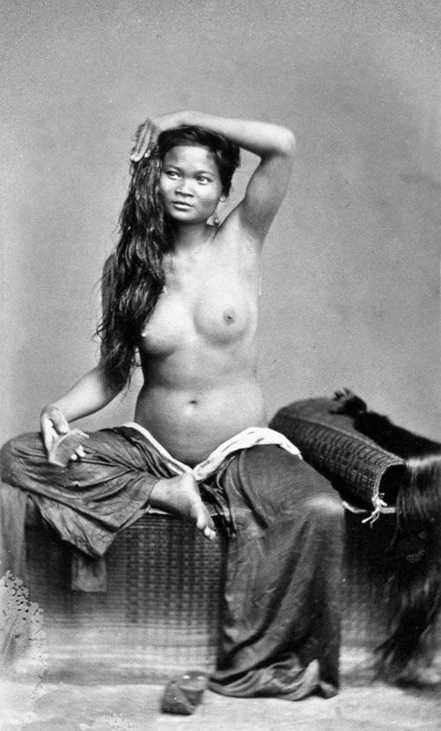 A beautiful Cochinchine woman, 1886