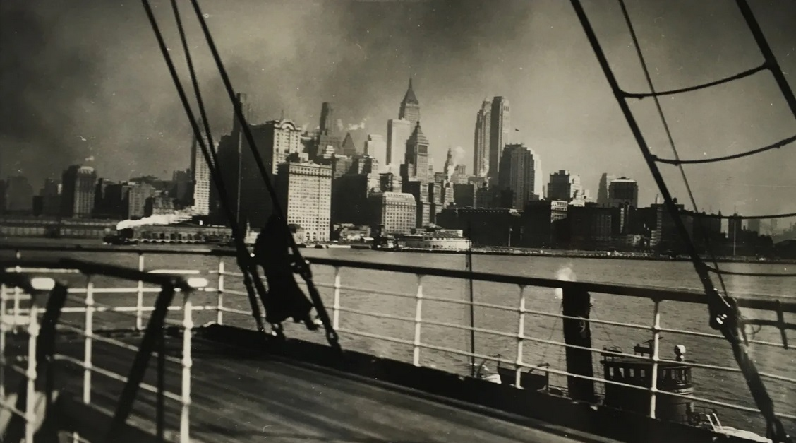 Adieu New York I, February 1932