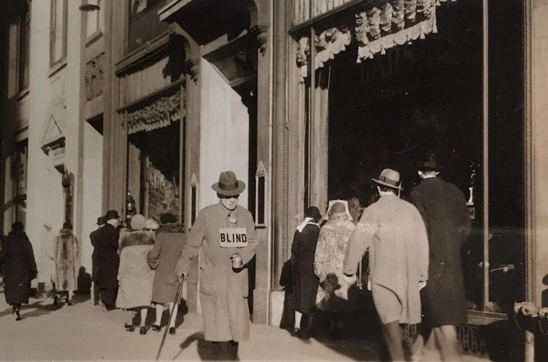 Blind Man, 1932