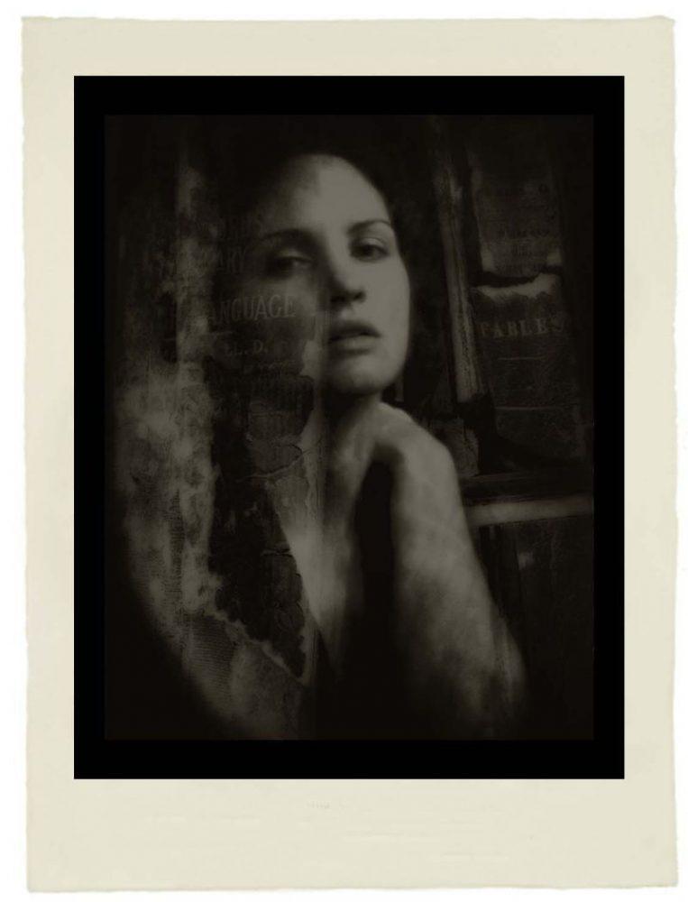 Josephine Sacabo, Te Hallé Como Una Lagrima en un Libro Olvidado from Moments of Being, Photogravure - Tissue, Print Date: 2019