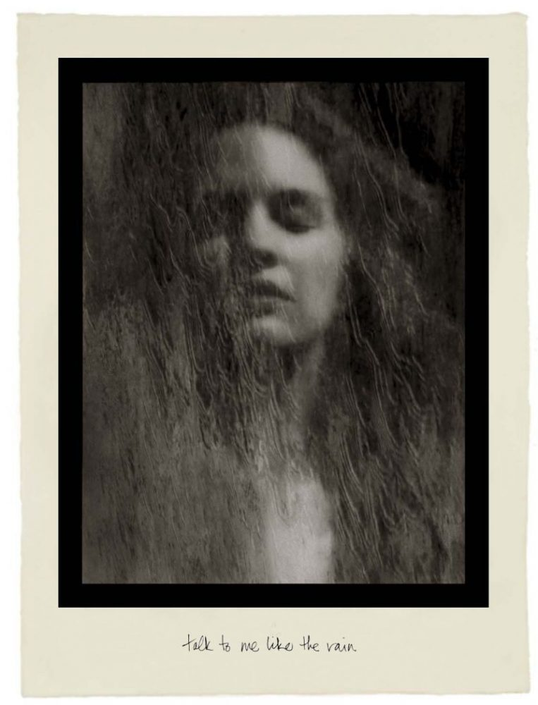 Josephine Sacabo, Talk To Me Like The Rain from Moments of Being, Photogravure - Tissue, Print Date: 2019
