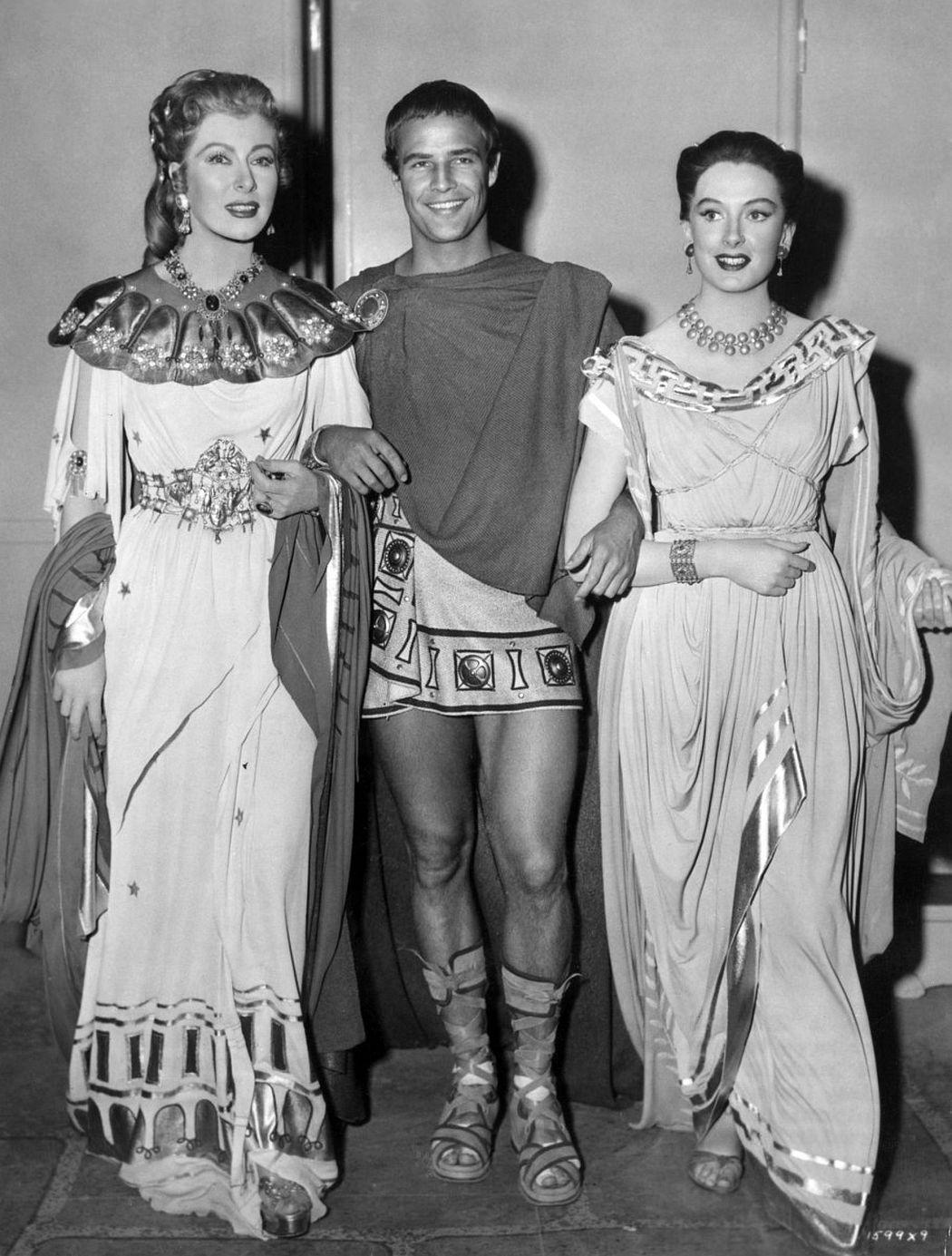 Marlon Brando as Mark Antony in 'Julius Caesar' (1953)