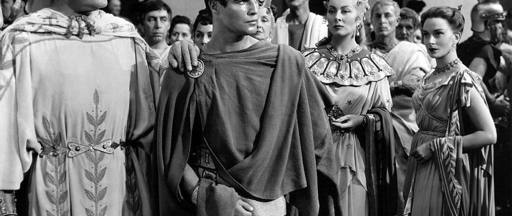 Vintage: Marlon Brando as Mark Antony in 'Julius Caesar' (1953)