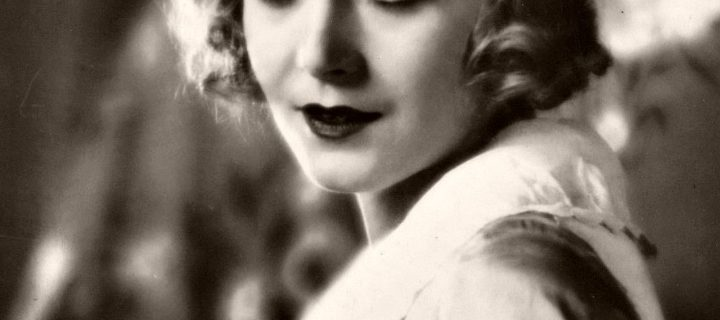Vintage: Portraits of Vilma Bánky – Silent Movie Star