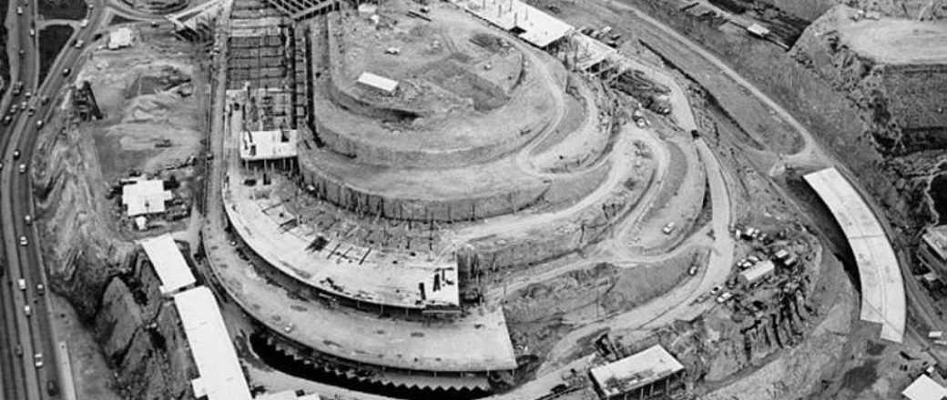 Vintage: El Helicoide Construction (1950s)