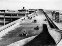 Vintage: Fiat Rooftop Test Track in Turin (1920s)