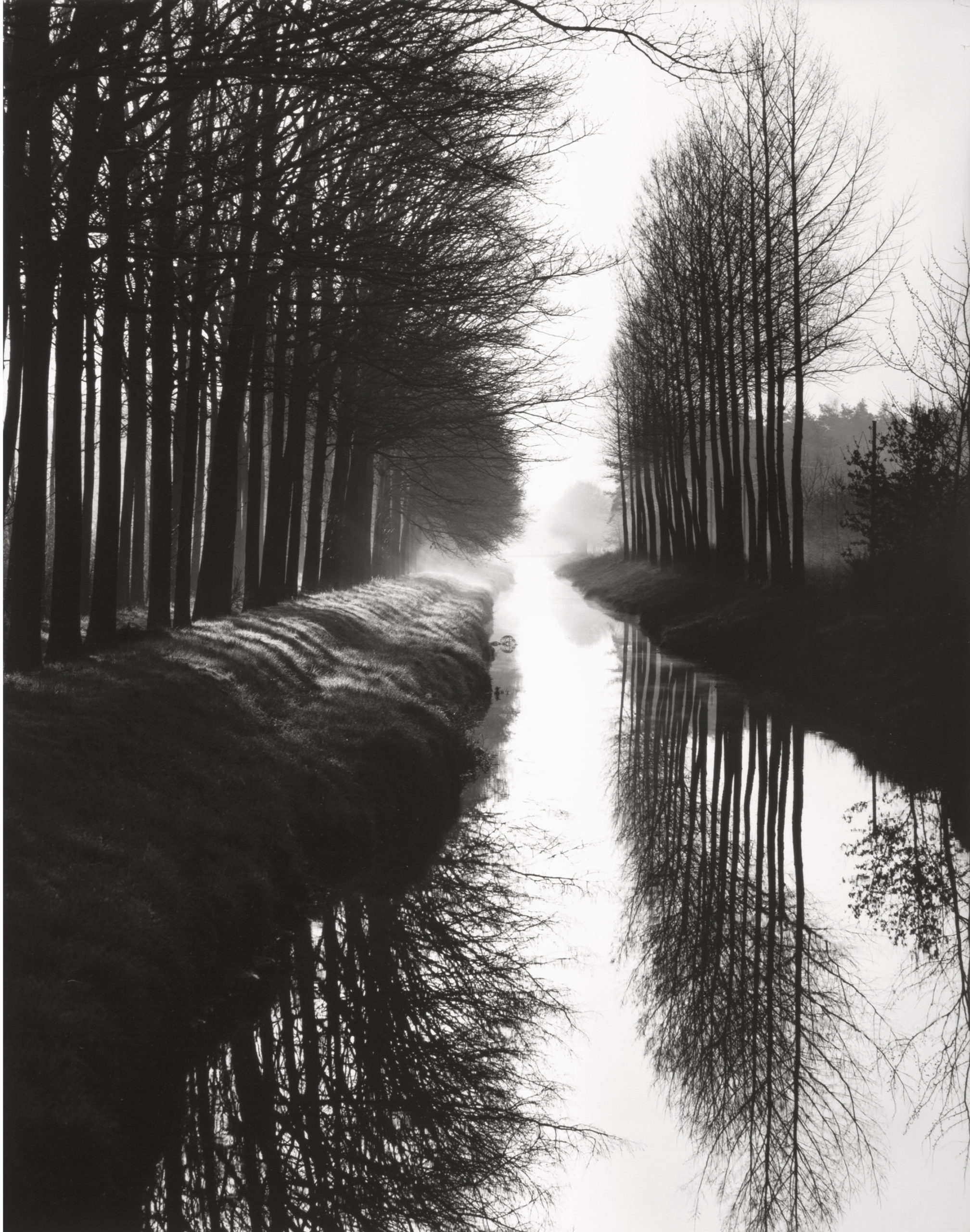 Brett Weston Holland Canal, 1971
