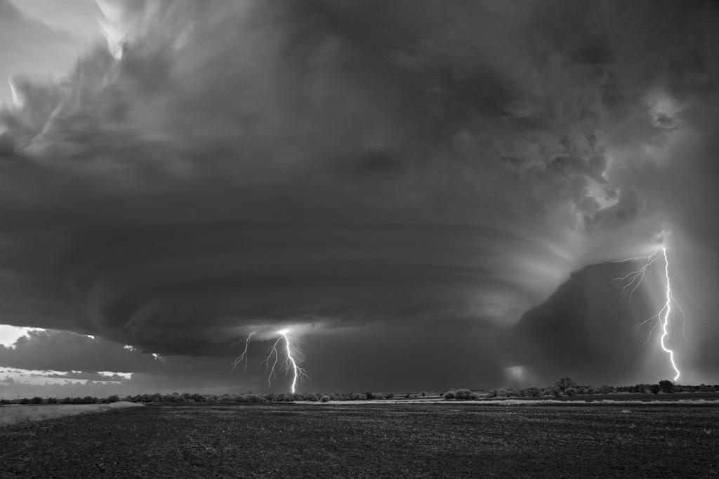 Lightning Strikes, Peckham, Oklahoma, 2016