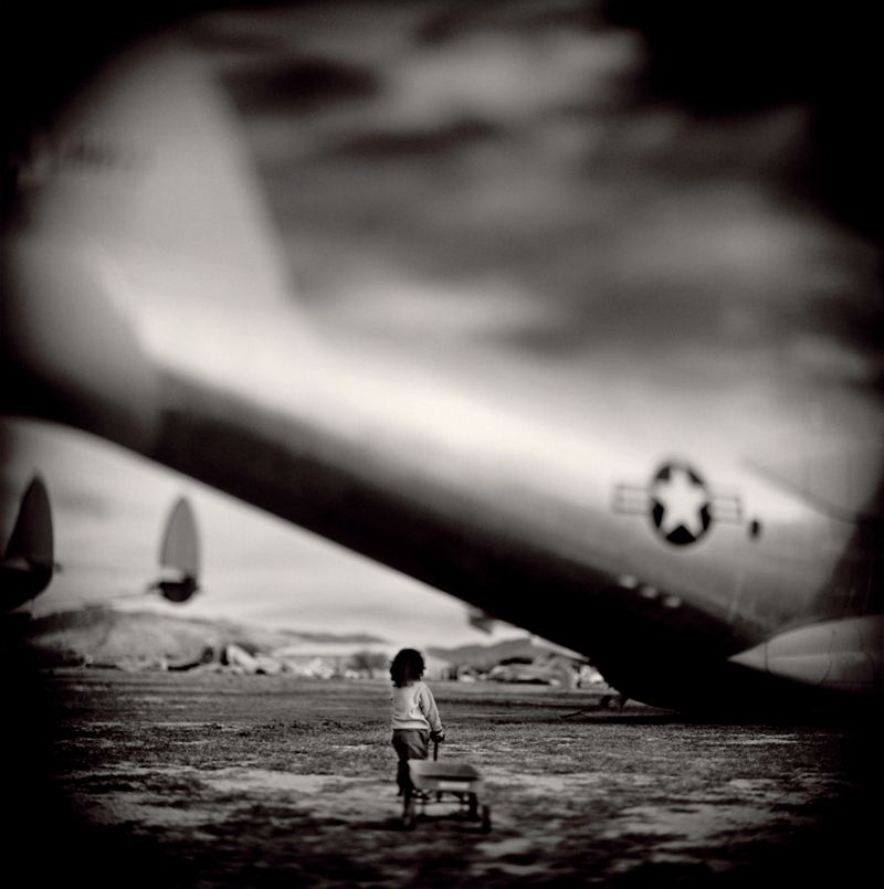 Keith Carter Radio Flyer, 2000