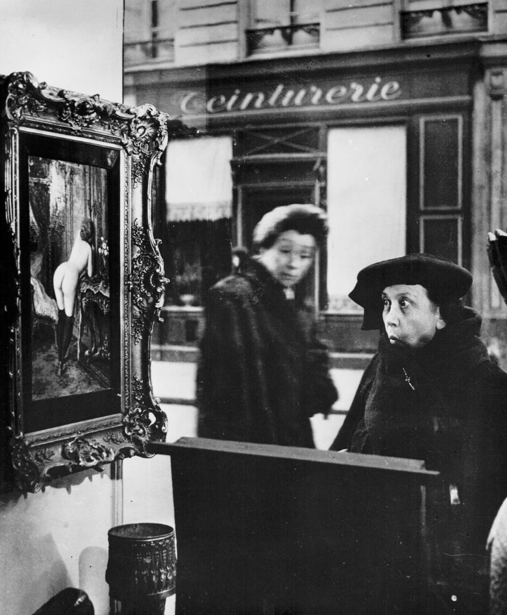 Robert Doisneau La Dame Indignee, 1948/1956