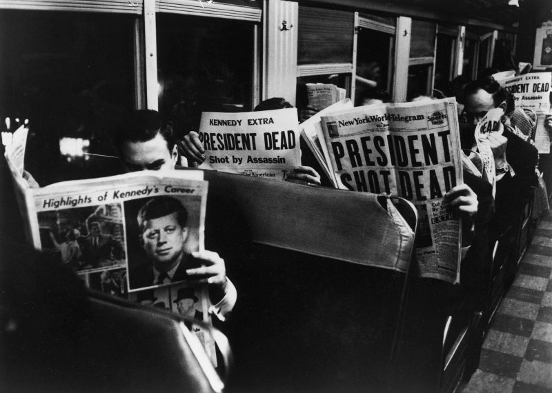 View On the 6:25 from Grand Central to Stamford, November 22 by Carl Mydans
