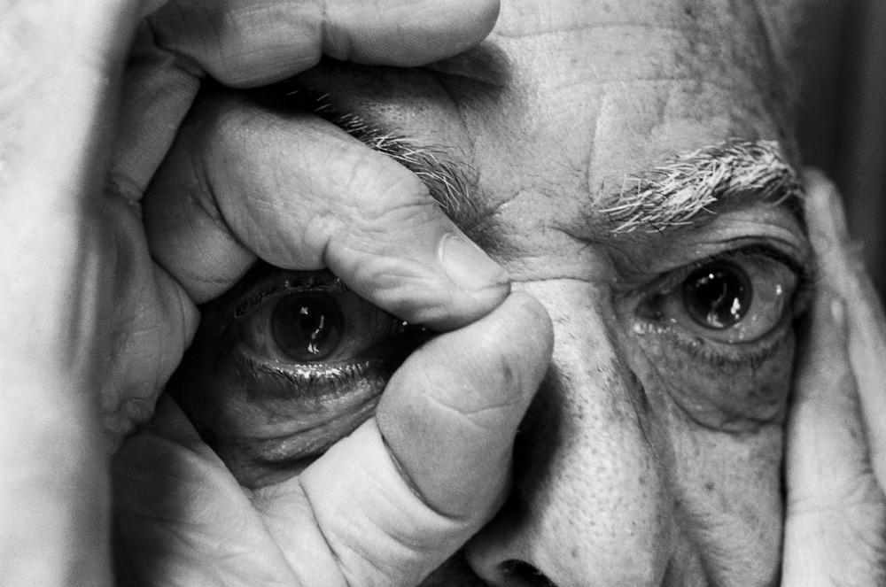 John Loengard. (American, born 1934); Title: Brassai's Eye, Paris,. 1981