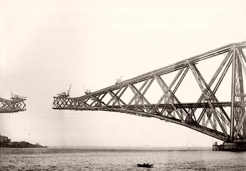 The Forth Bridge Construction (1890s)