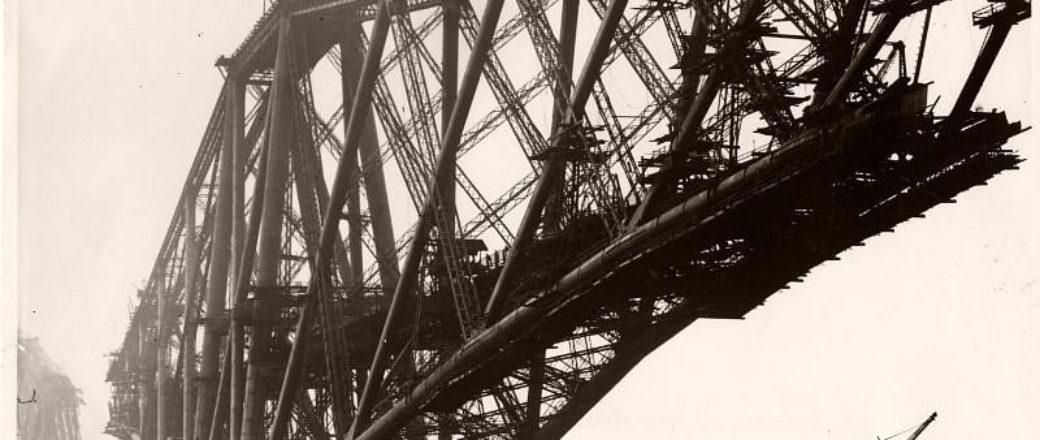 Vintage: The Forth Bridge Construction (1890s)