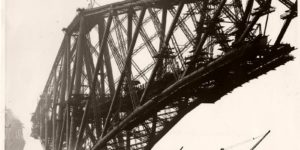 Vintage: The Forth Bridge Construction (1890s)