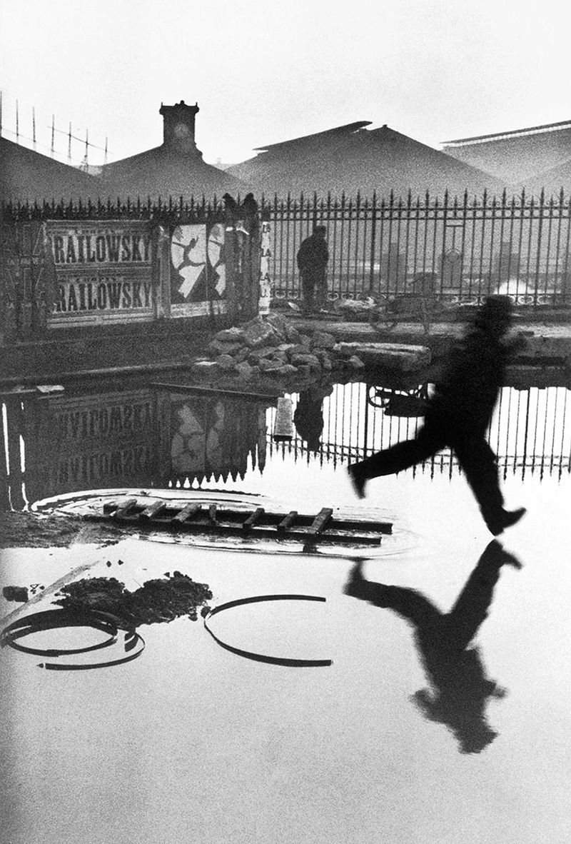 Henri Cartier-Bresson, Behind the Gare Saint-Lazare, Paris