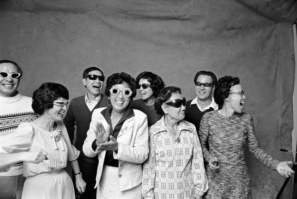 Michael Jang, Aunts and Uncles from his series The Jangs, 1973, gelatin silver print. Courtesy of the artist / © Michael Jang