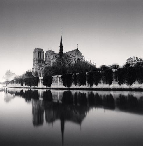 Michael Kenna, Notre Dame, Study 3, Paris, France. 1987