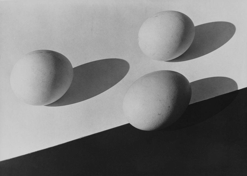 Aenne Biermann Untitled (Three Eggs), 1928 Gelatin silver print, 44,6 x 60 cm Museum Folkwang, Essen