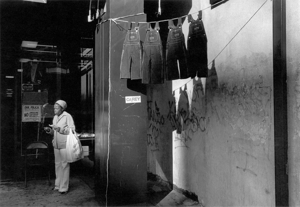 A Woman with Hanging Overalls, 1978