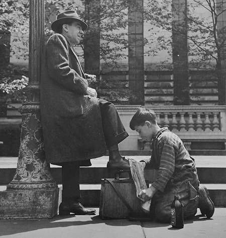 Shoe Shine, New York