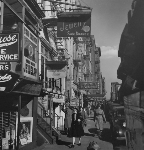 Eighth Street, Greenwich Village, New York, 1946