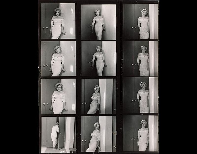 Marilyn Monroe, 1952. Philippe Halsman (American, b. Russia [now Latvia], 1906–1979). Gelatin silver print, ferrotyped; 25.4 x 19.8 cm. © Halsman Archive. Image courtesy of the Cleveland Museum of Art