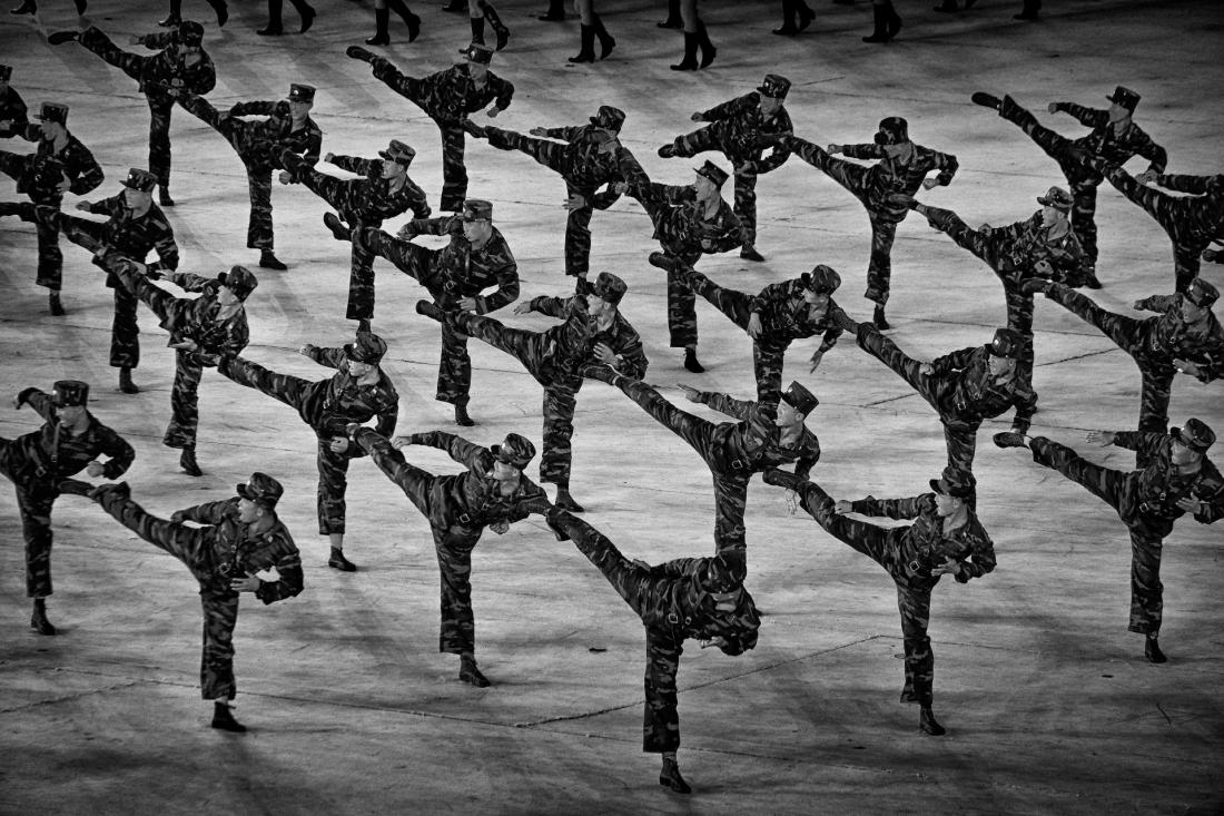 © Alain Schroeder: Taekwondo North Korea Style / MonoVisions Photography Awards 2019 winner