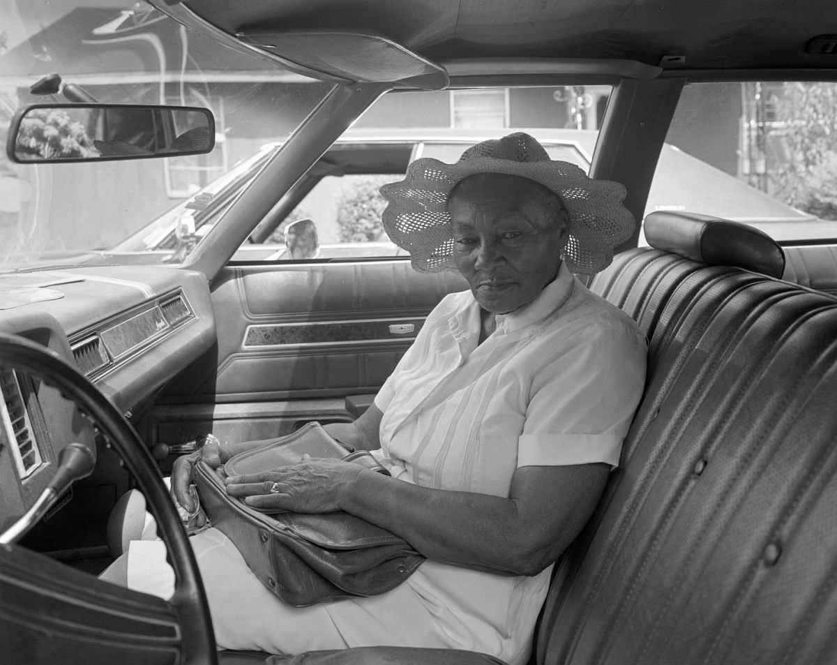 Lula, Mississippi - Woman in Hat  1984