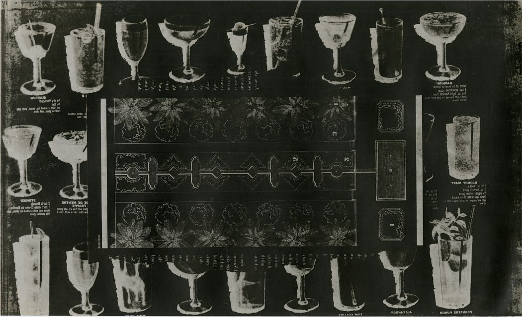 Thomas Barrow: Untitled, 1973, from the series Trivia 2  Verifax matrix print