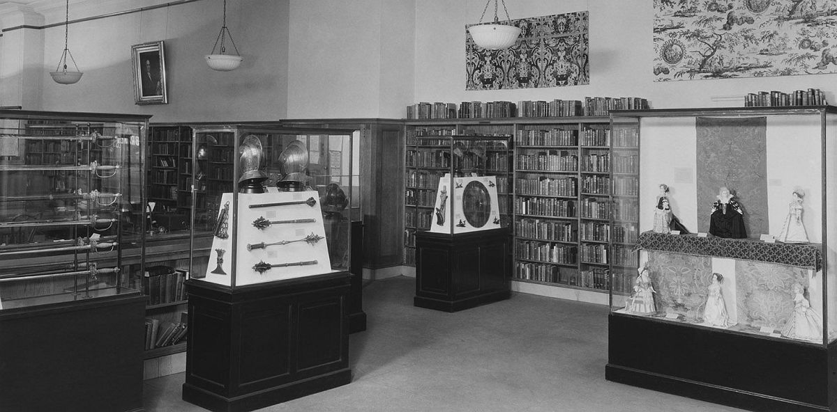 """Arms, Armor, and Textiles: 1492-1776,"""" George Bruce Branch, New York Public Library, 518 West 125th Street, Manhattan, 1934"""