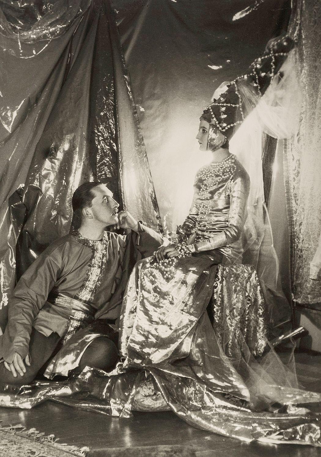 Baba Beaton and Prince Galitzine, 1927  Cecil Beaton