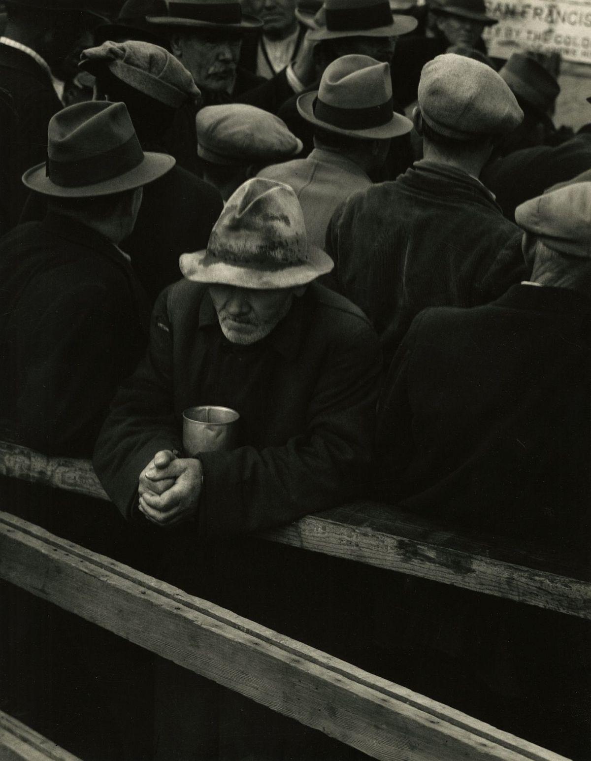 Dorothea Lange  White Angel Breadline, San Francisco, 1933